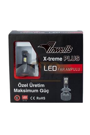 Inwells X-treme Plus Csp Led Xenon (zenon) H4 15000 Lümen