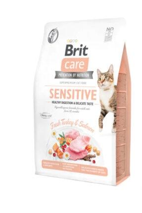 Brit Care Sensitive Healty Digestion Hindi Ve Somonlu Yetişkin Kedi Maması 7kg