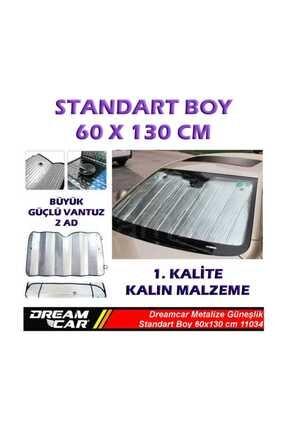 Dreamcar Metalize Güneşlik Balonlu 60X130 Cm 11034