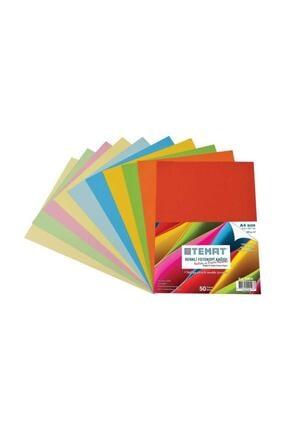 Temat Renkli Fotokopi Kağıdı Fosforlu Ve Pastel Krş. Renk 50 Li