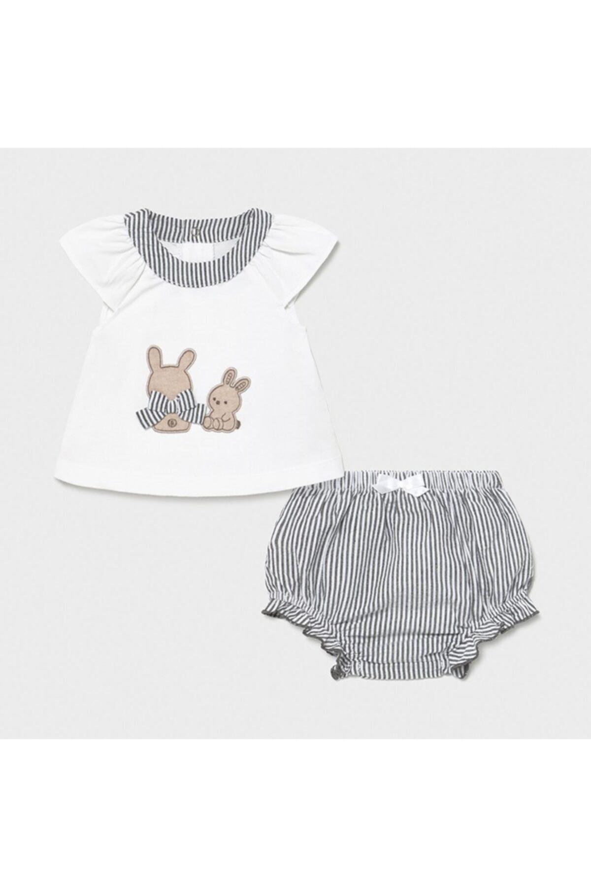 MAYORAL Kız Bebek Takım 2'li 1