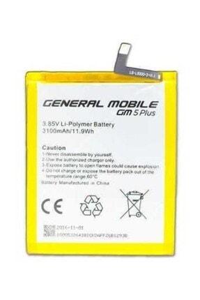 GLRTech Generel Mobile Gm5 Plus Uyumlu  Batarya Pil