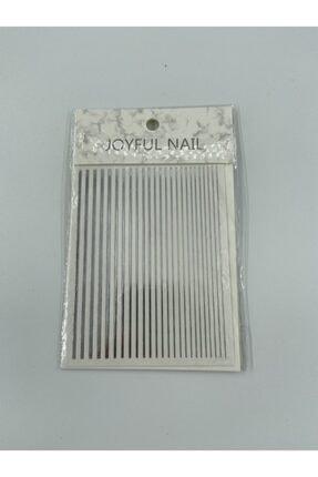 ADN AKSESUAR Gümüş Tırnak Stıckerı