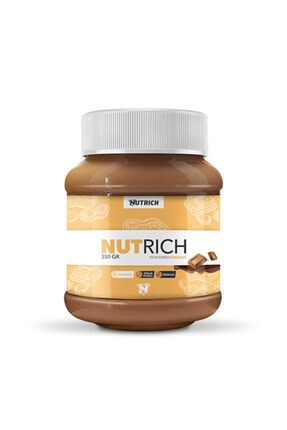 Nutrich Nutrition Nutrich Creamy Kakaolu Doğal Fıstık Ezmesi 350 gr