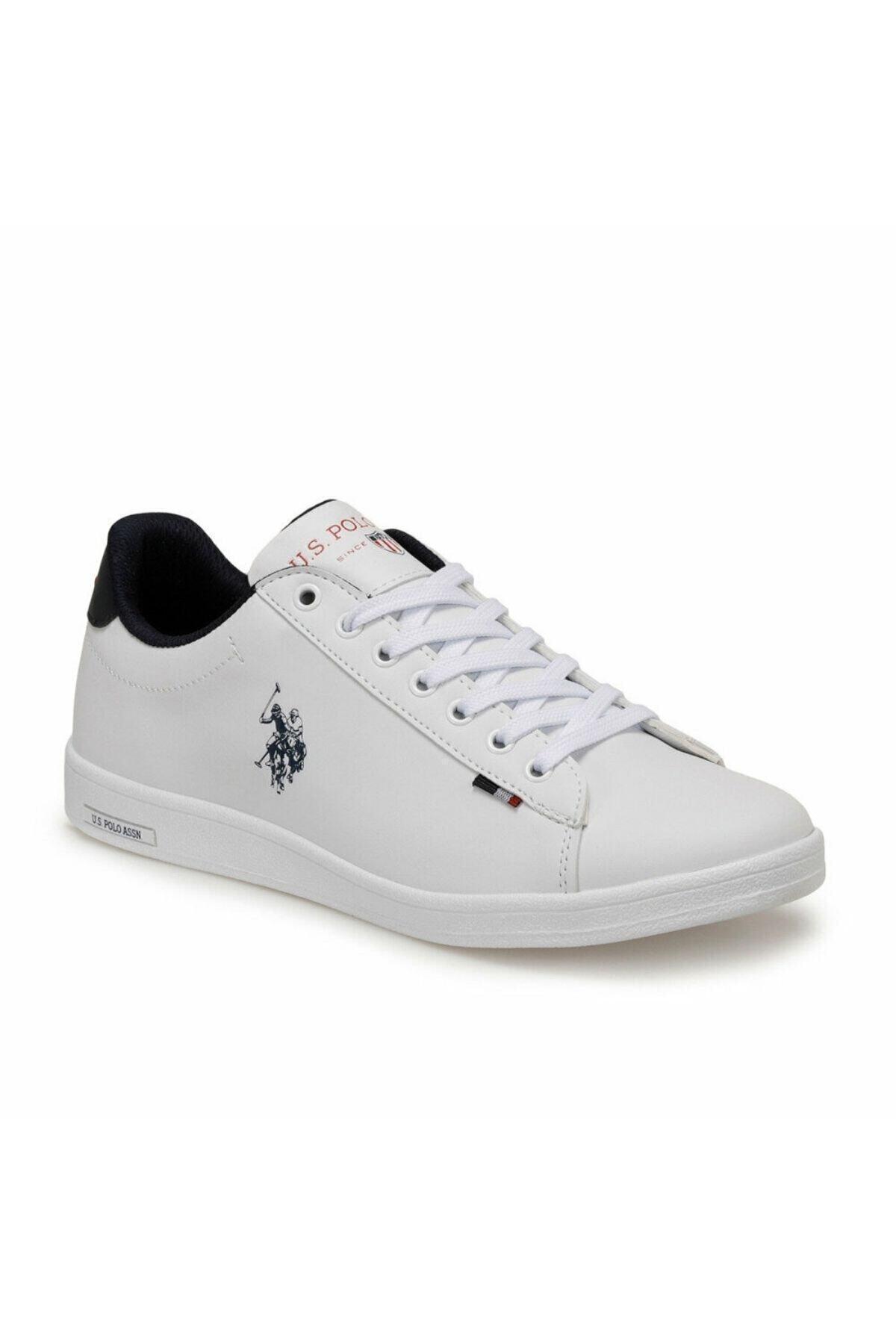U.S. Polo Assn. FRANCO Beyaz Erkek Sneaker Ayakkabı 100249743 1