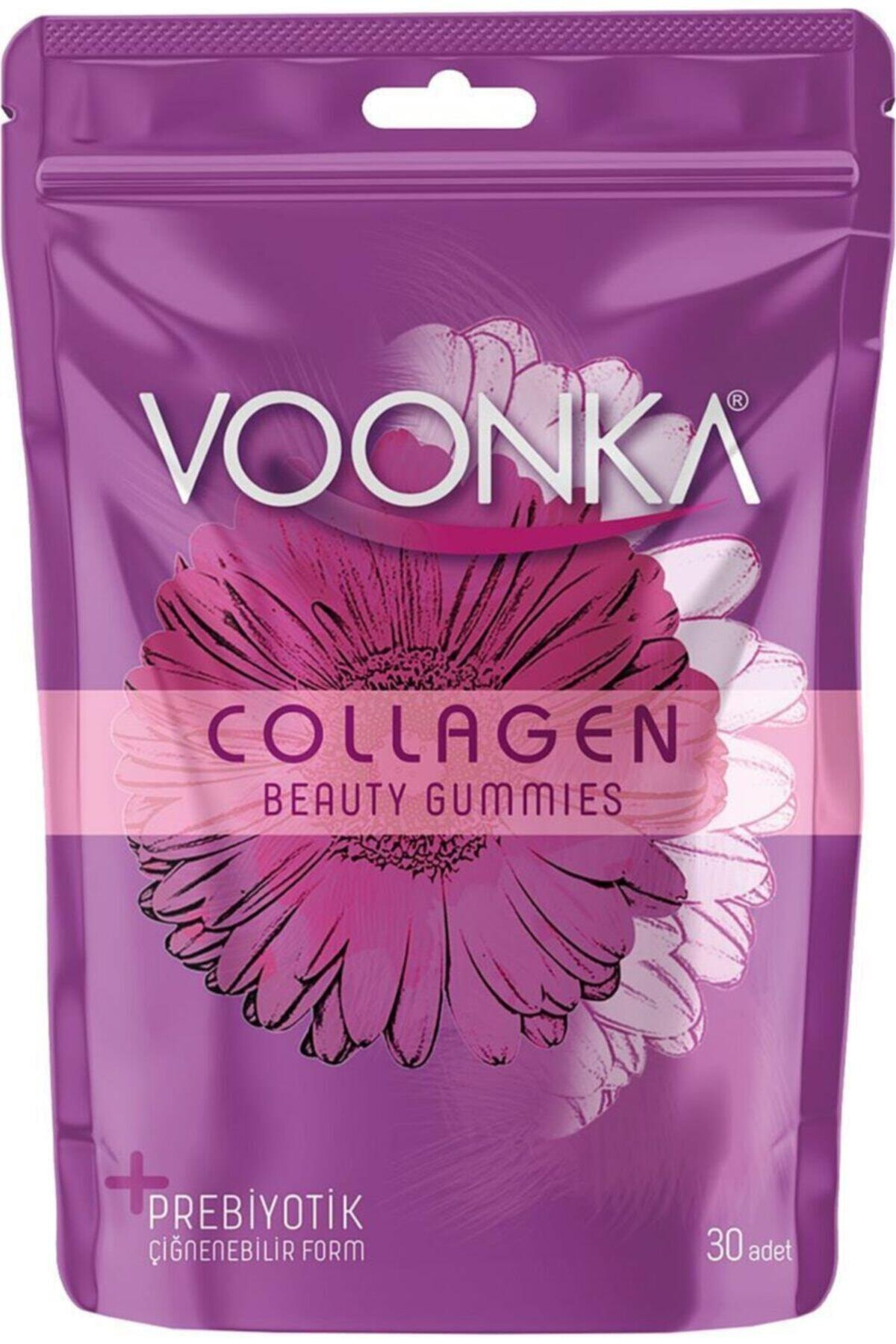 Voonka Collagen Beauty Gummies 30 Çiğnenebilir Tablet 1