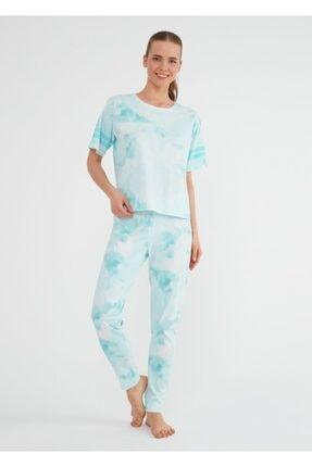 SUWEN Batik Pijama Takımı