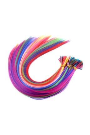 Boncuk 20 Adet Renkli Kaynaklık Saç Takım Boncuğu
