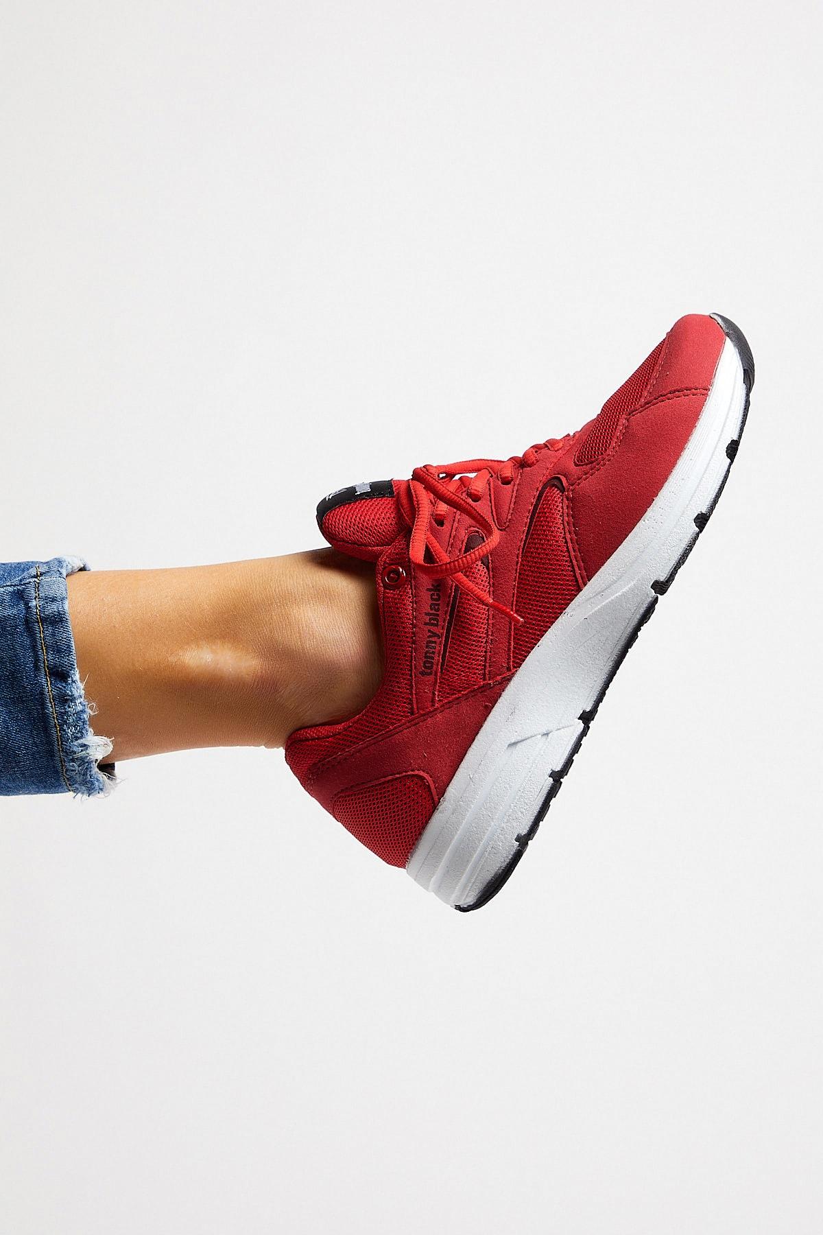 Tonny Black Unısex Spor Ayakkabı Kırmızı 772 1