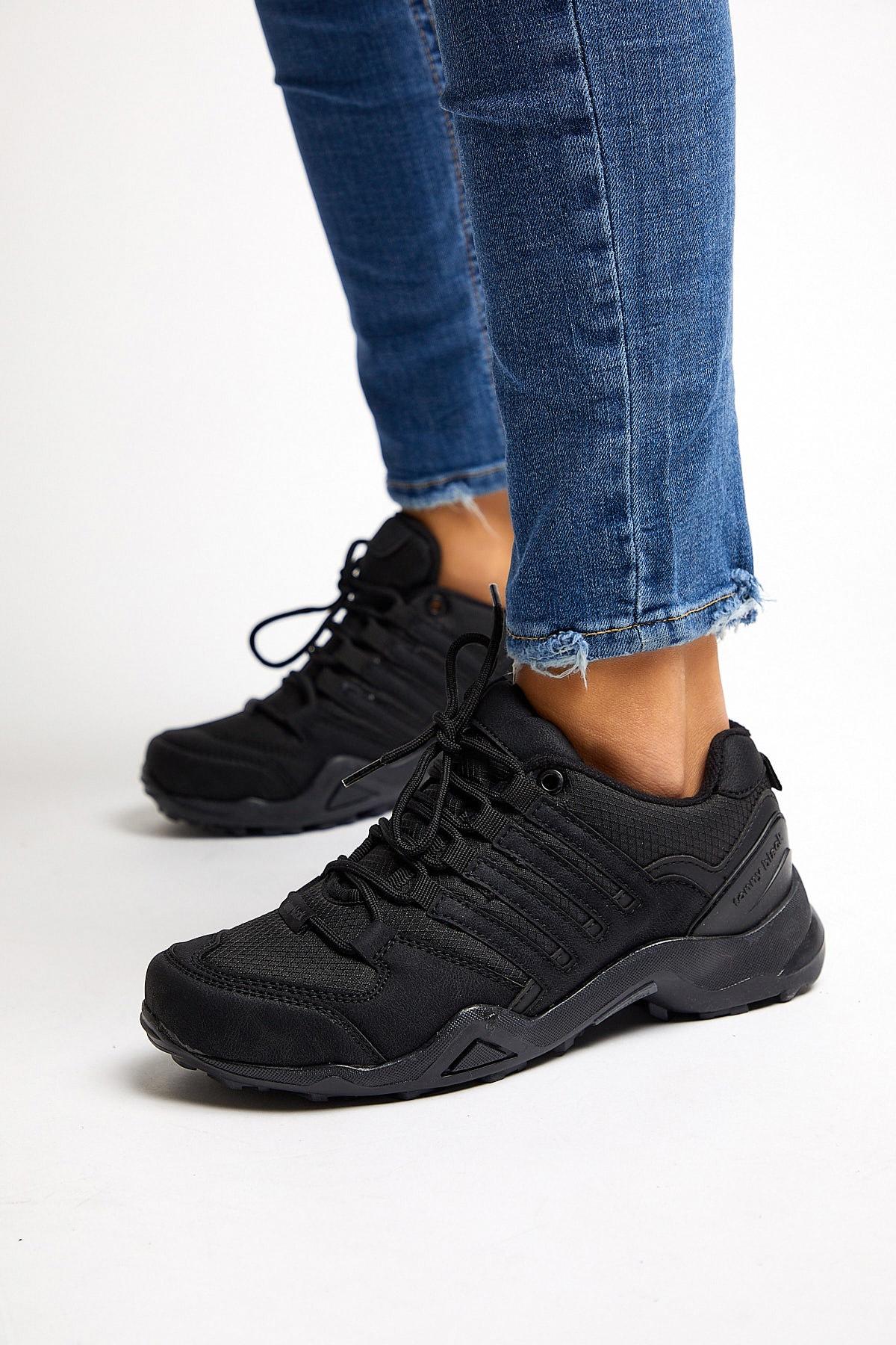 Tonny Black Unısex Trekkıng Ayakkabı Siyah Tb241 2