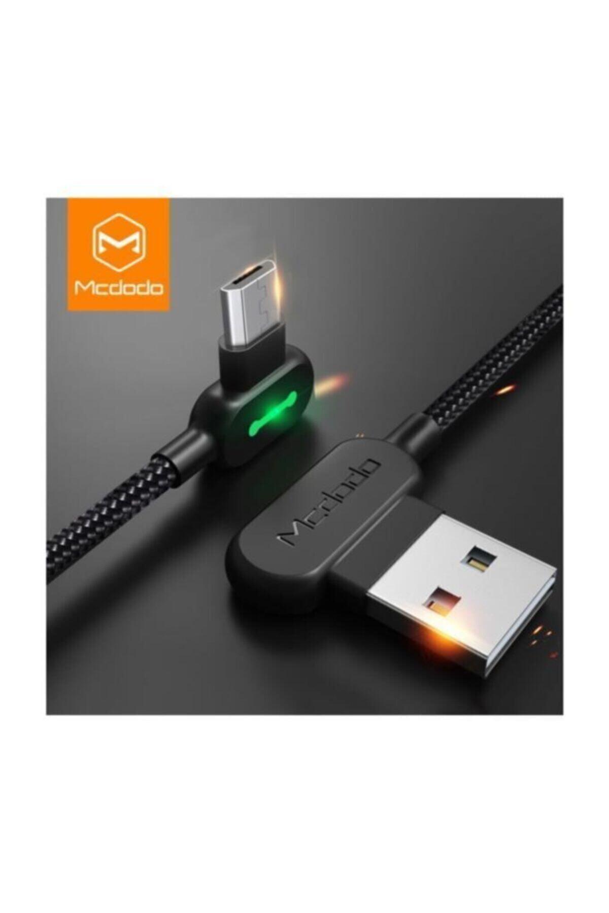 Mcdodo Micro Usb Işıklı Şarj Ve Data Kablosu 1.8mt Ca-5772 2