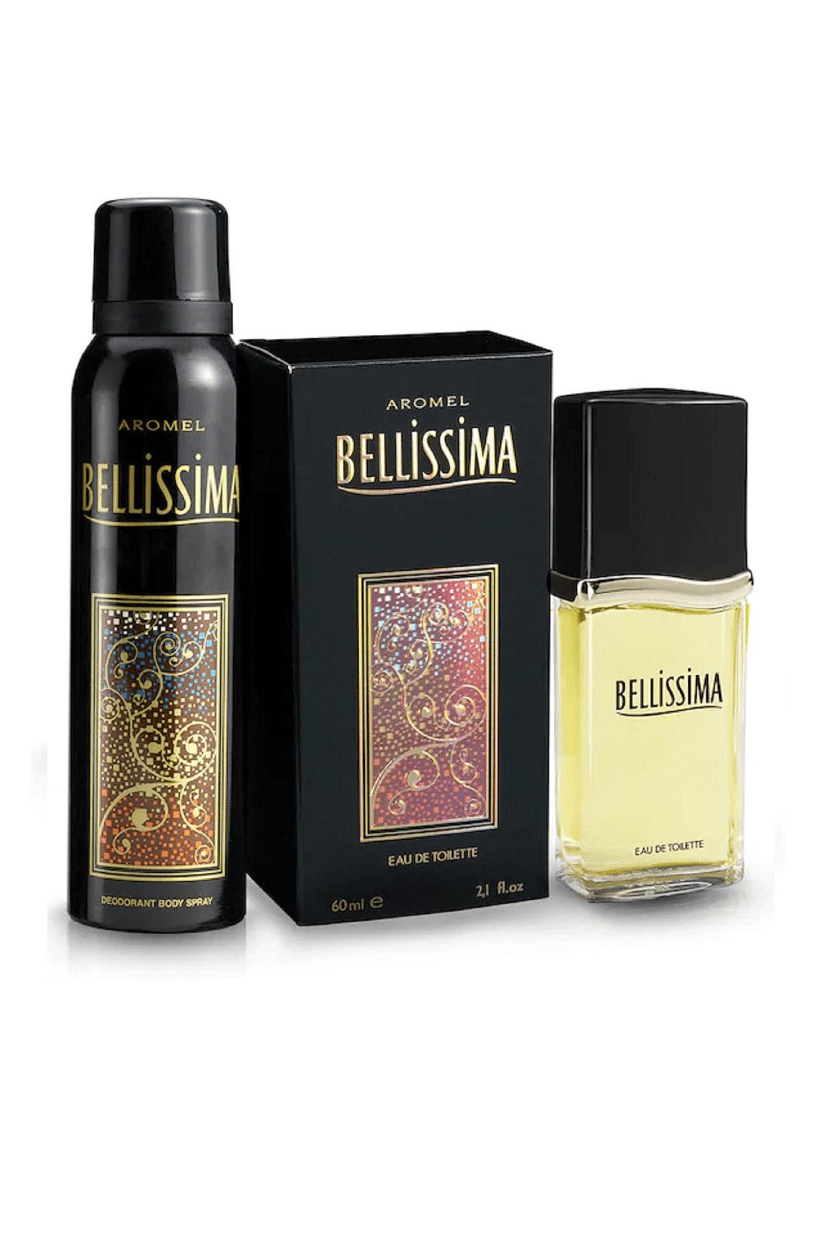 Bellissima Kadın Parfüm Seti Edt 60 ml Ve Deodorant 150 ml Kadın Kofre Set 1