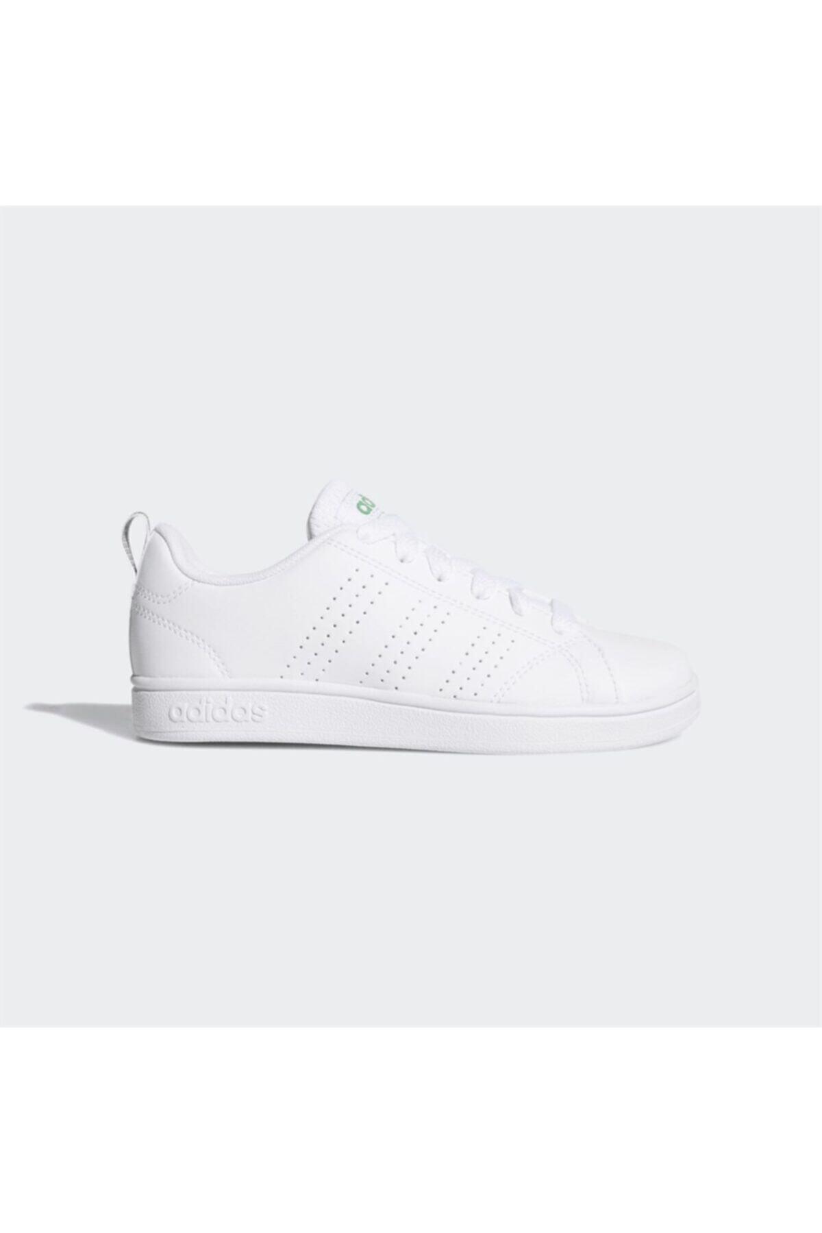 adidas ADVANTAGE CLEAN Beyaz Haki Erkek Çocuk Sneaker 100280003 1