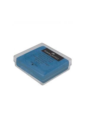 Faber Castell Plastik Kutulu Renkli Hamur Silgi-mavi