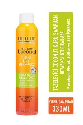 MARC ANTHONY Coconut Oil & Biotin Tazeleyici Coconut Kuru Şampuan 330 ml