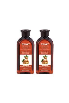 Tresan Argan Yağı Besleyici Ve Kırılma Karşıtı Bakım Şampuanı 300 ml - Yeni - 2 Adet