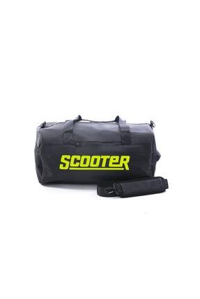 Scooter Unisex Siyah Baskılı Spor Çanta