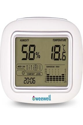 WEEWELL Dijital Nem Ve Sıcaklık Ölçer(whm140)