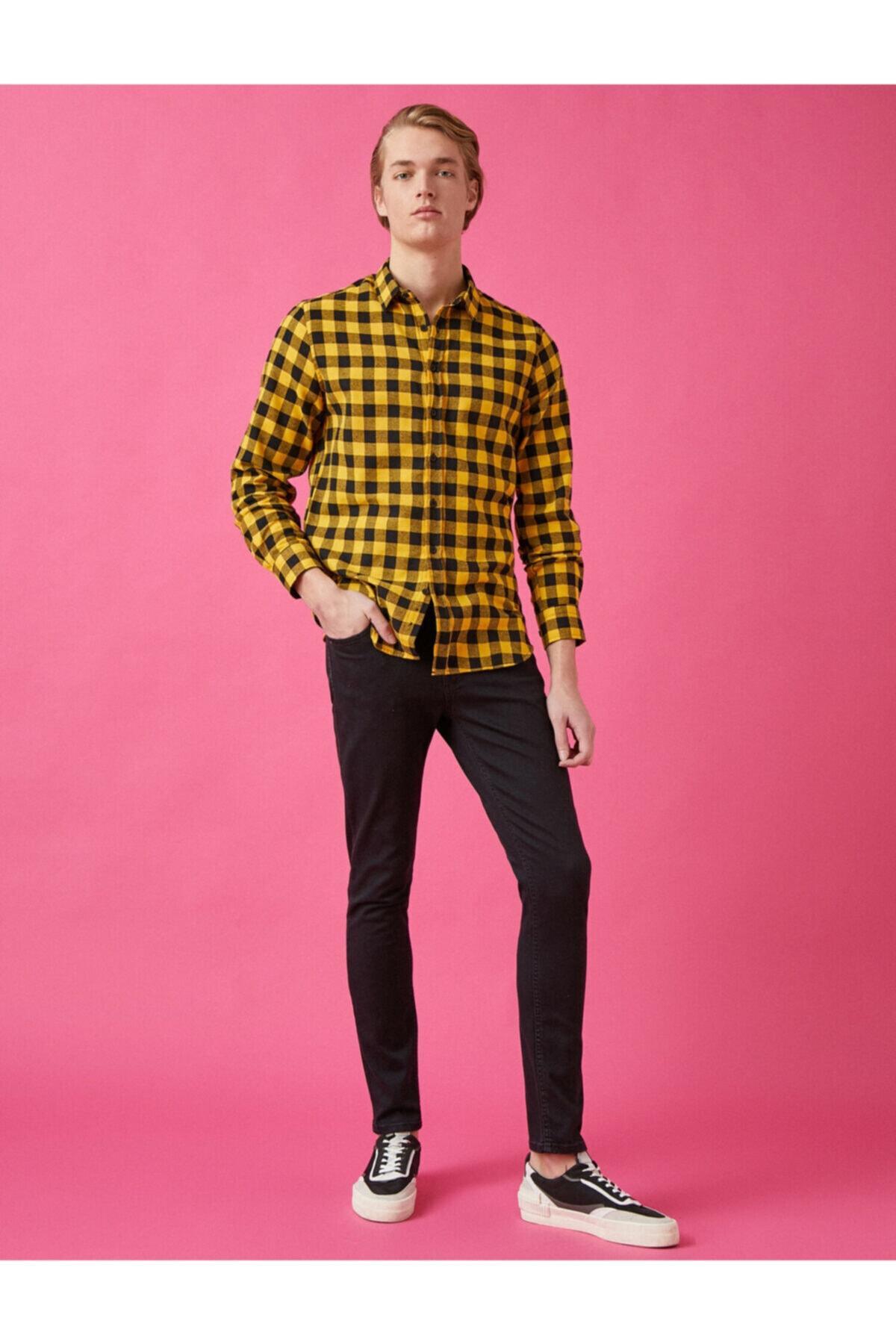 Koton Micheal Skinny Fit Ultra Strech Jean Pantolon 2