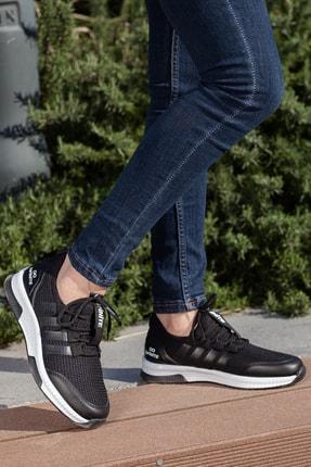 MUGGO Unisex Siyah Sneaker Ayakkabı Mgforce01