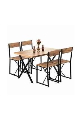 Weblonya Mutfak Masası Yemek Masası 4 Kişilik Masa 5064