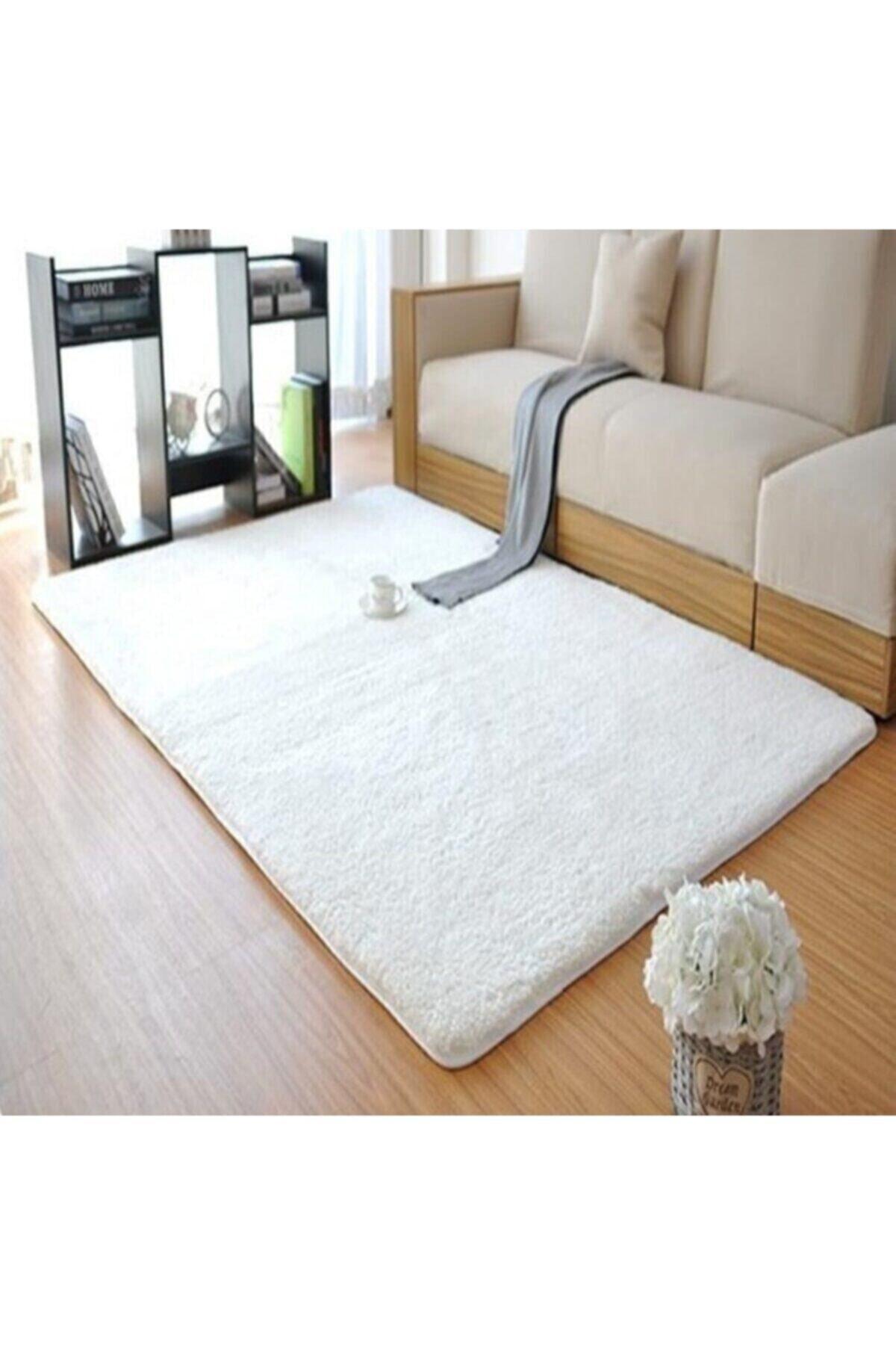 Sarar Dream House Peluş Halı Yumuşak Beyaz 1