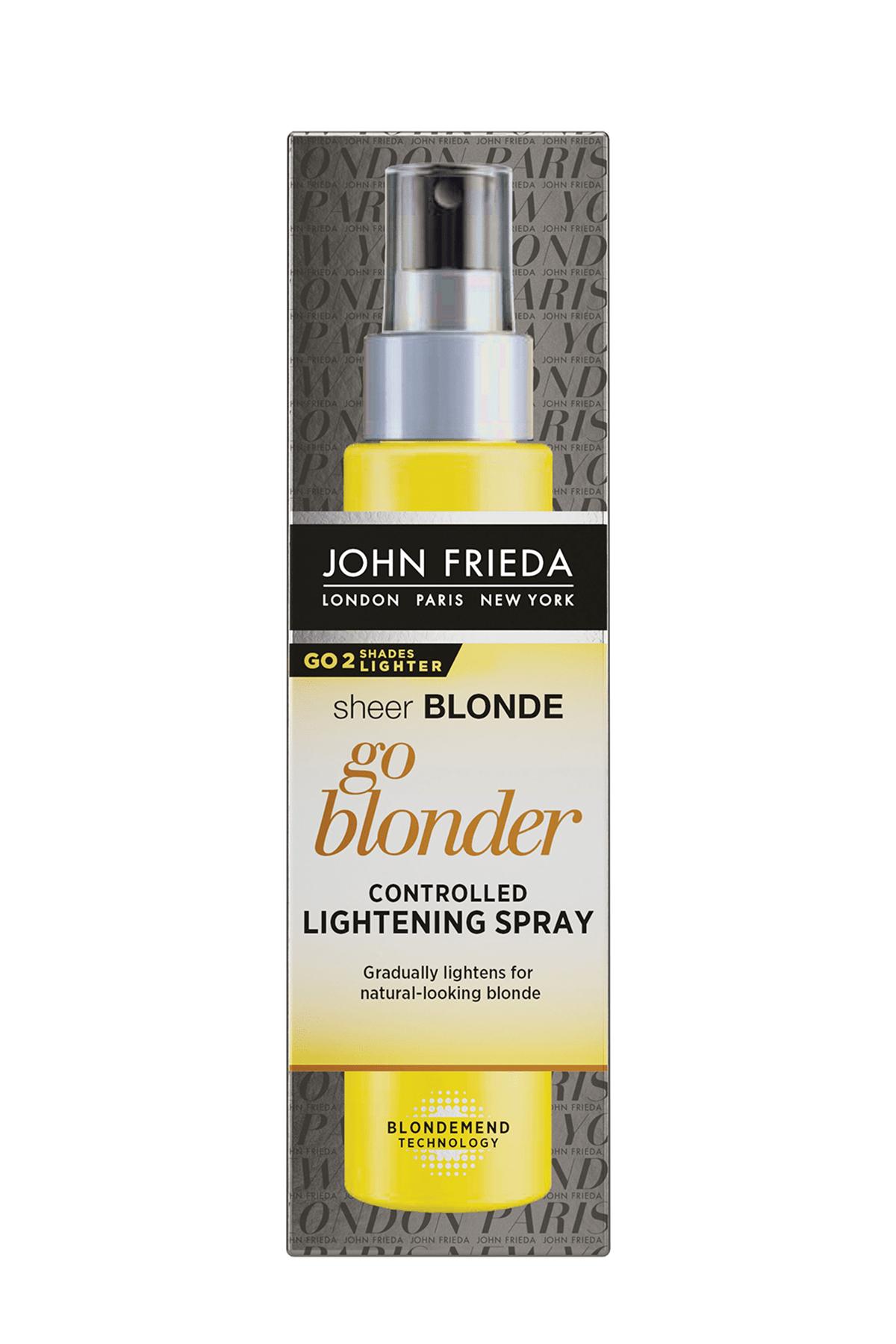 John Frieda Renk Açıcı Sprey - Sheer Blonde Controlled Lightening Spray 100 5037156227468