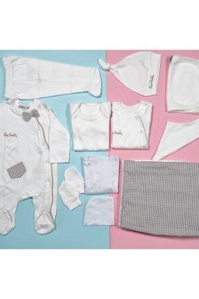 Pierre Cardin Baby Papyonlu Hastane Çıkışı 10'lu Set
