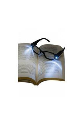 HediyeFilesi Led Kitap Gözlüğü Okuma Lambası Işıklı Camsız Panel