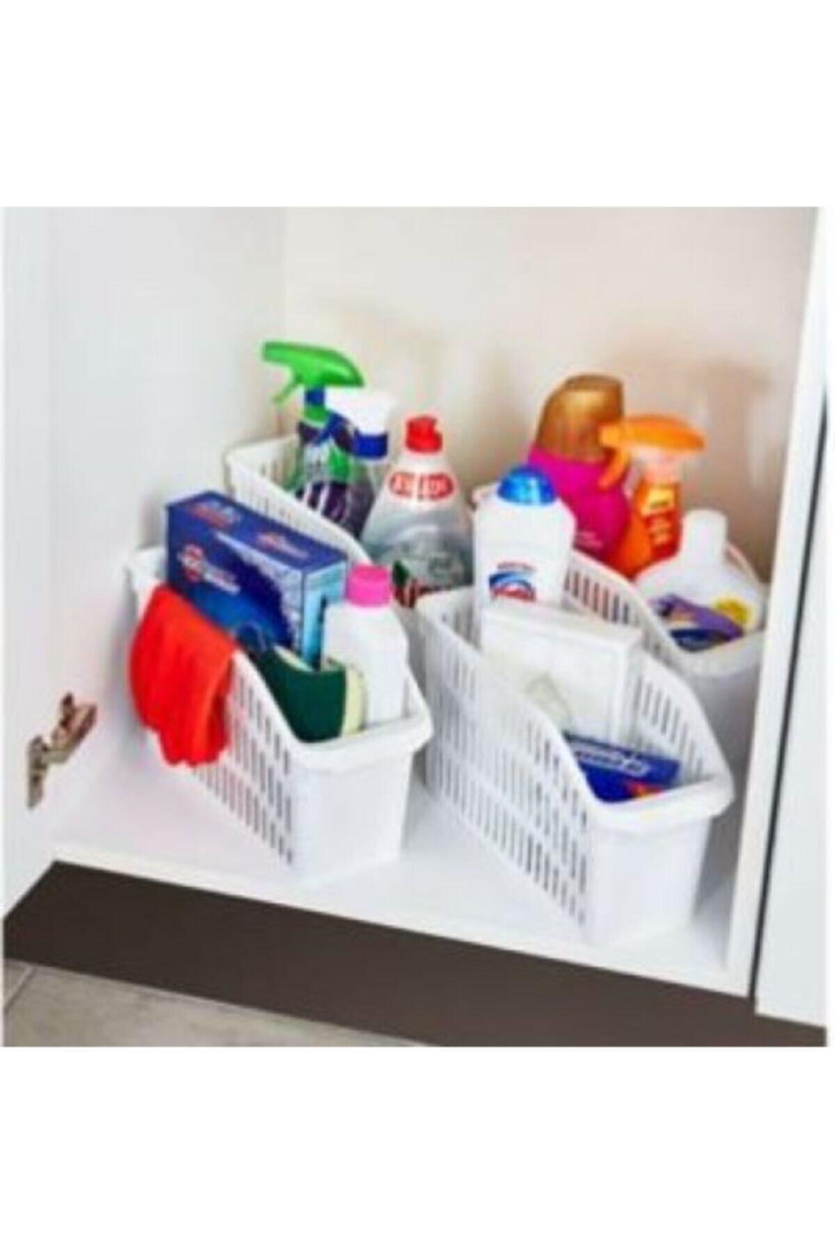 HOBBY LİFE Buzdolabi Içi Düzenleyici Dolap Içi Düzenleyici Organizer 4 Adet 2
