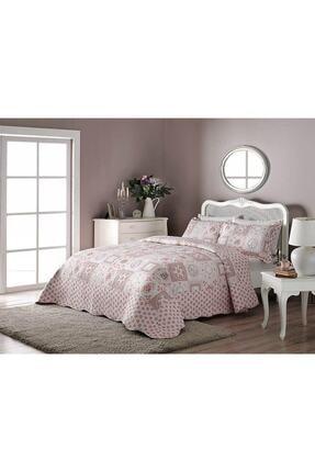 Taç Çift Kişilik Baskılı Yatak Örtüsü Allegro 71125827