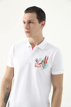 D'S Damat Tween Beyaz Nakışlı T-shirt