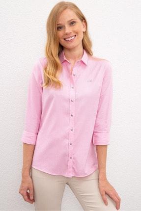 U.S. Polo Assn. Pembe Kadın Gömlek