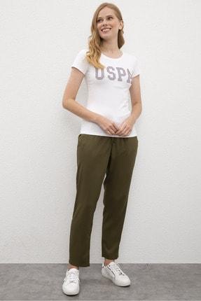U.S. Polo Assn. Yesıl Kadın Pantolon