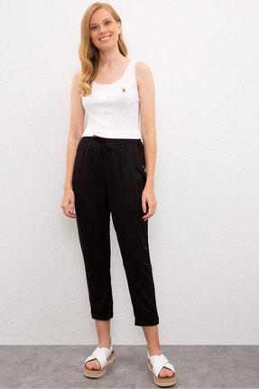U.S. Polo Assn. Sıyah Kadın Pantolon