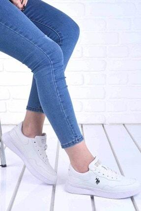 U.S. Polo Assn. Kadın Beyaz Günlük Spor Ayakkabı 100909442