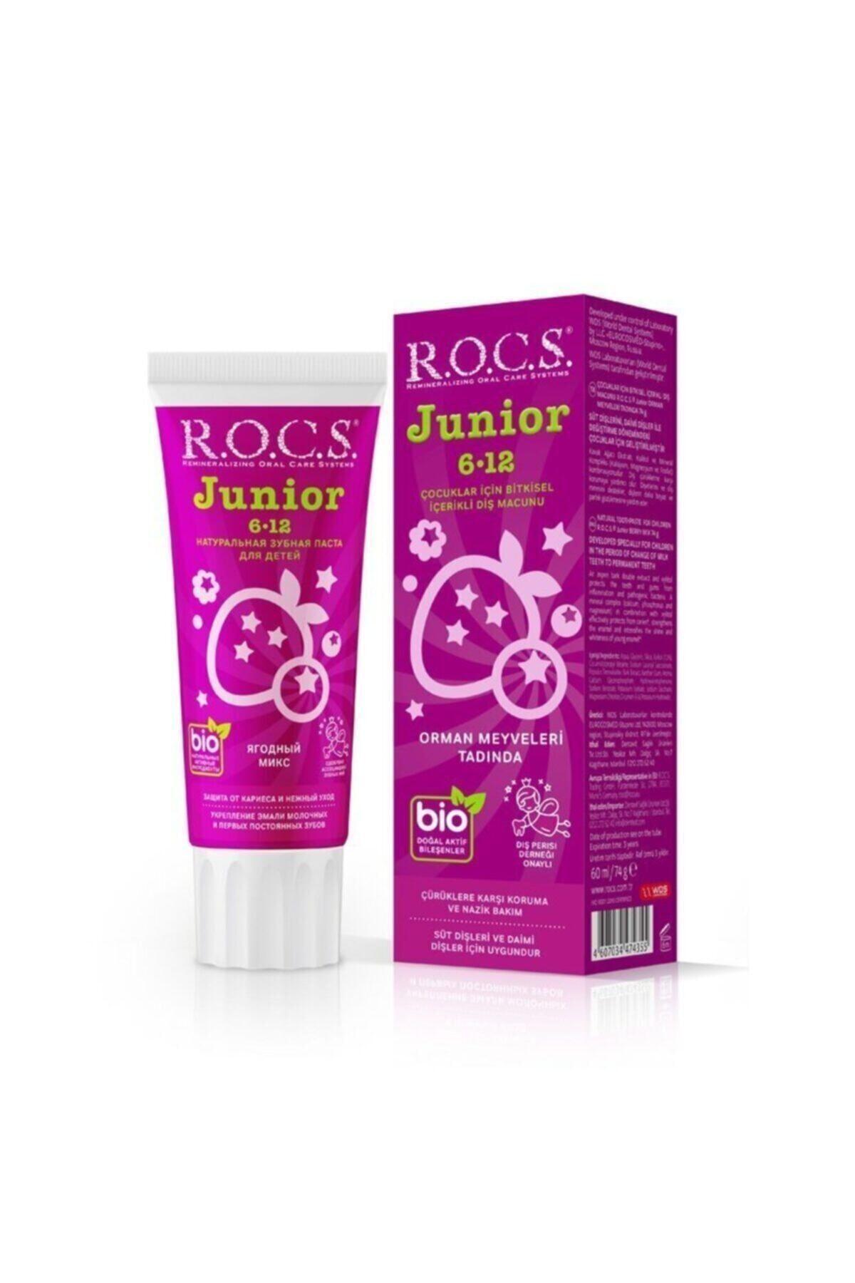R.O.C.S. Rocs Junior 6 12 Orman Meyveleri Tadında 60 ml 1