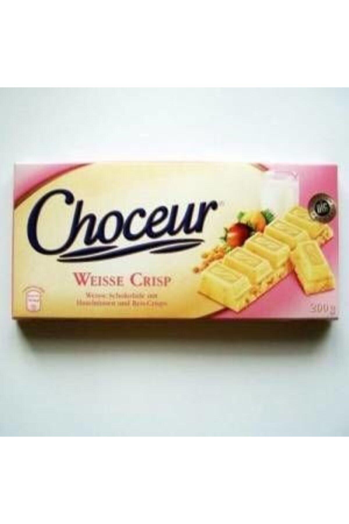 Choceur Weisse Crisp 200 gr - Fındıklı Beyaz Çikolata 1
