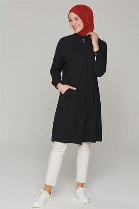 Armine Kadın Siyah Tunik 20ka4040