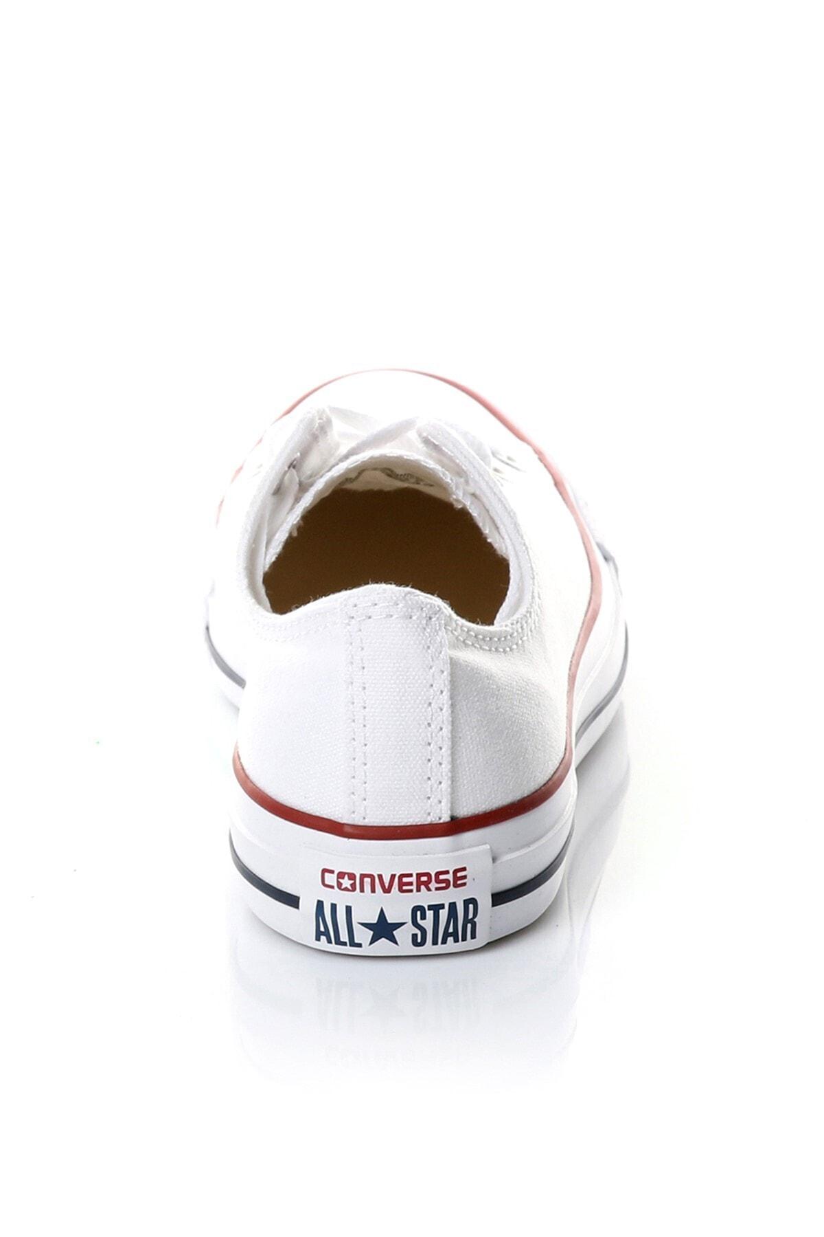 converse Beyaz Kadın / Kız Sneaker M7652c Chuck Taylor All Star Optıcal White Canvas 2