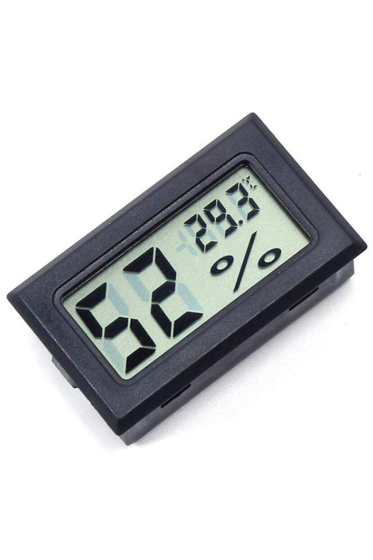 Arduino Mini Lcd Dijital Ekran Sıcaklık Nem Ölçer - Gizli Prob Termometre Higrometre 1