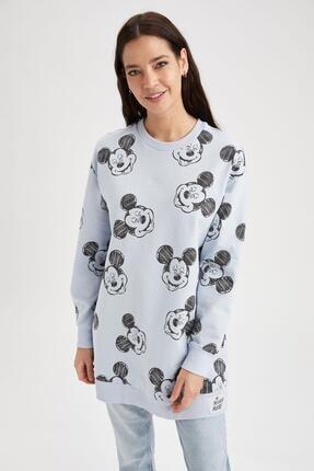 DeFacto Mickey&minnie Lisanslı Sweat Tunik