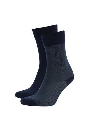 DeFacto Bambu Soket Çorap  2li