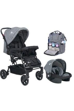 4 Baby Olimpos Travel Çift Yönlü Bebek Arabası Ve Puset Çanta