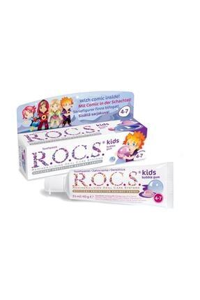R.O.C.S. Kids 4-7 Yaş Diş Macunu Balon Sakızı 45g 4607034470876