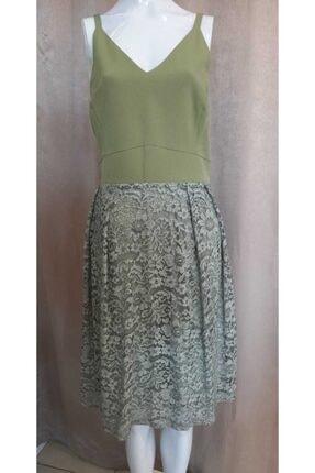 Journey Kadın Yeşil Askılı Elbise
