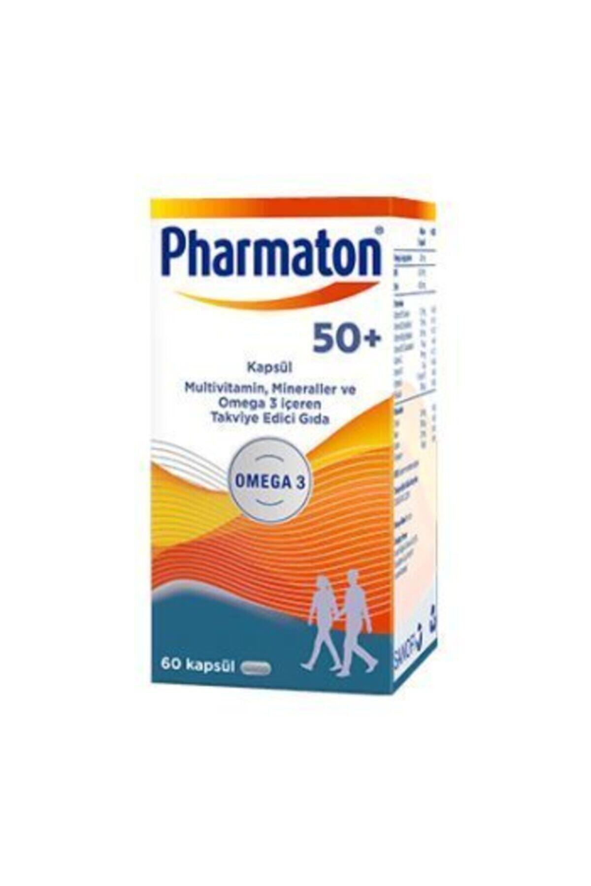 Pharmaton Vitality 50 Plus 60 Kapsül 1