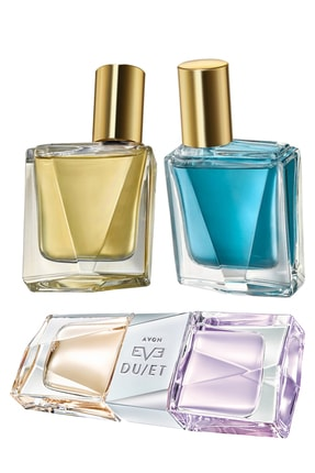 AVON Eve Duet, Eve Duet Contrasts Calm Ve Daring Kadın Parfüm Paketi