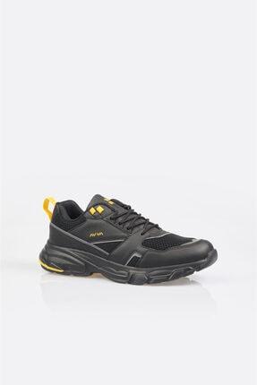 Avva Erkek Siyah Garnili Spor Ayakkabı A11y8012