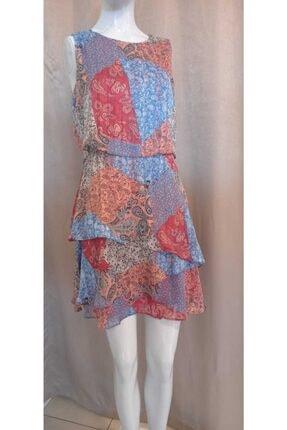 Journey Kadın Şal Desenli Elbise